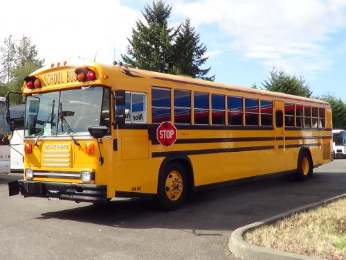 1992 Blue Bird TC2000 13 Row 78 Passenger Rear Engine School Bus - B52192