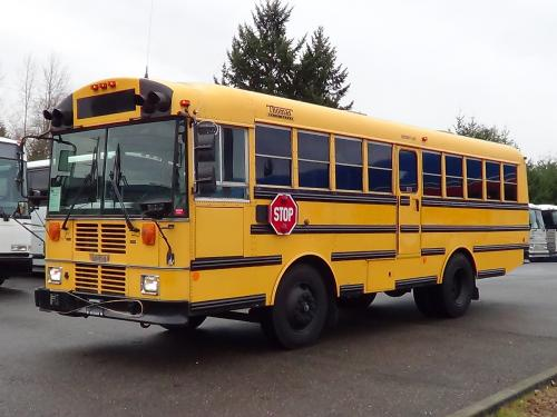 Used 1996 Thomas Saf-T-Liner Type D School Bus with Wheelchair Lift