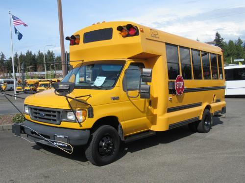 Northwest Bus Sales Inc 2003 Ford Girardin 16 Passenger