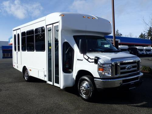 7fd95ef467 2019 Ford Starcraft Allstar 12 Passenger + 2 Wheelchairs Shuttle Bus –  S21520