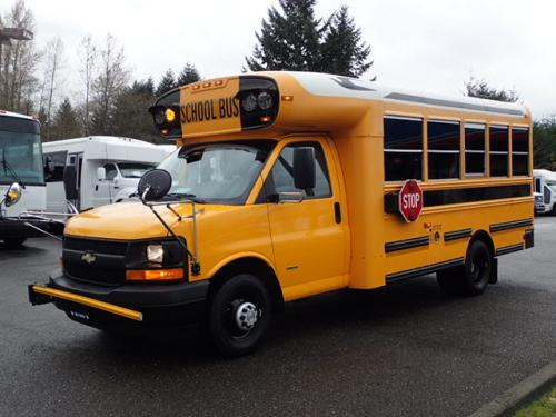 Northwest Bus Sales, Inc Product categories Sold Buses