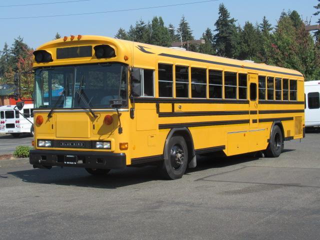 Blue Bird Bus >> 2000 Bluebird All American 78 Passenger School Bus B87880