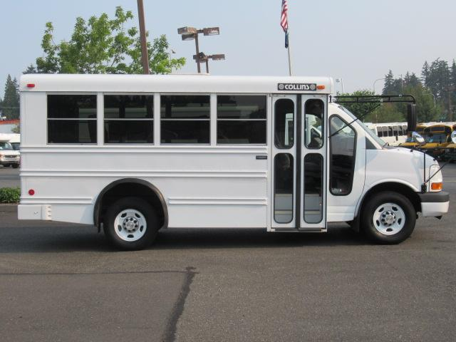northwest bus sales  inc 2007 chevrolet collins mfsab 14