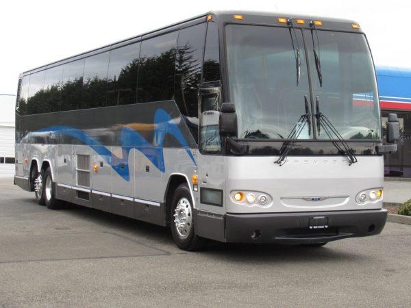 2008 Prevost H3-45 56 Passenger Coach Bus - C11142
