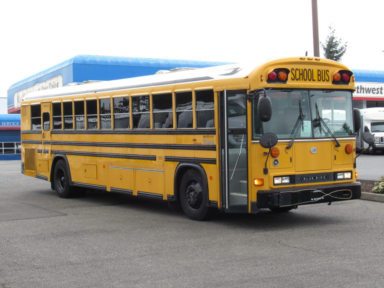 Blue Bird Bus >> Northwest Bus Sales Inc 2004 Blue Bird All American 78 Passenger