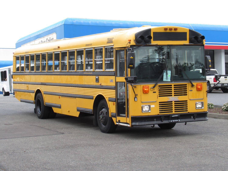 2002 Thomas Saf-T-Liner 84 Passenger School Bus - B22459